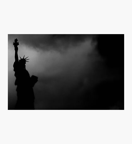 LIBERTY IN DARKNESS Photographic Print