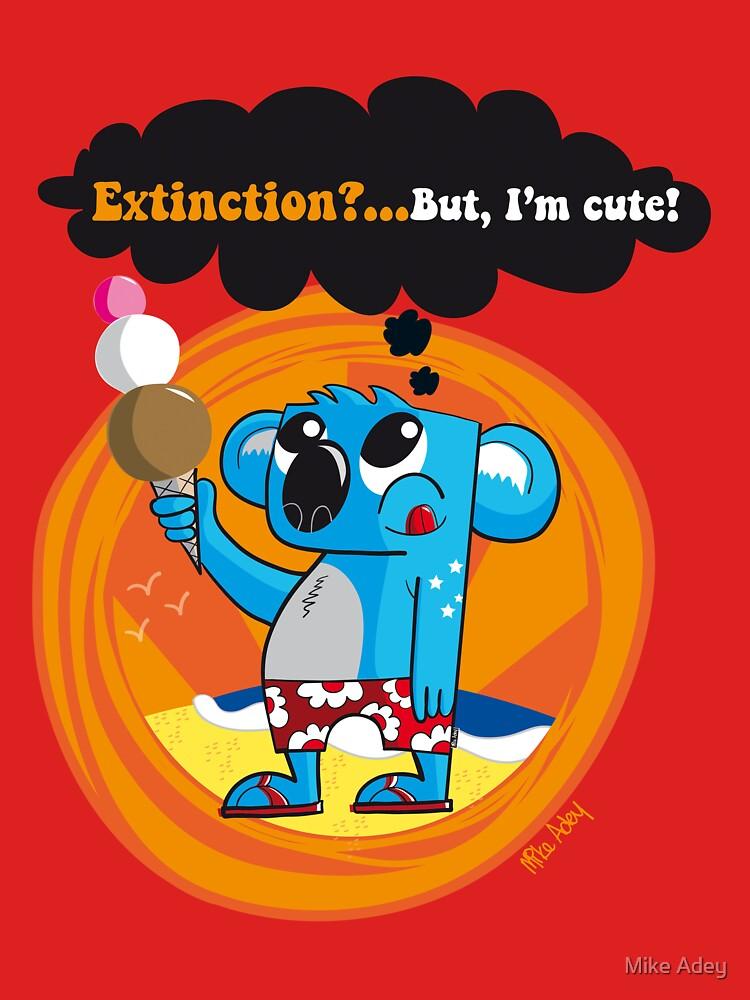 Extinction?...But, I'm cute! by mike372