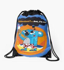 Extinction?...But, I'm cute! Drawstring Bag