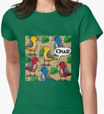 The Birds of Jardin du Luxembourg Fitted T-Shirt