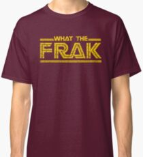 GALACTICA WHAT THE FRAK Classic T-Shirt