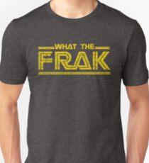 GALACTICA WHAT THE FRAK Unisex T-Shirt