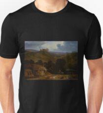 John Martin - Landscape with a Castle T-Shirt