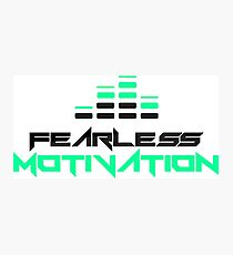 Fearless Motivation - LOGO Team Fearless Photographic Print