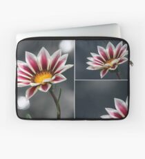 Triple Purple & White Flower Laptop Sleeve
