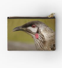 a wattle bird came to see me Studio Pouch
