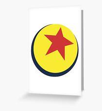 Pixar Ball  Greeting Card