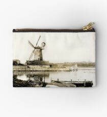 Cley Windmill marsh tide 1900 Studio Pouch