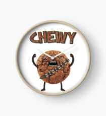 Chewy Chocolate Cookie Wookiee Clock