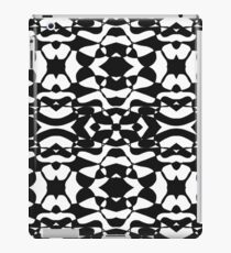 Black and white Retro  iPad Case/Skin