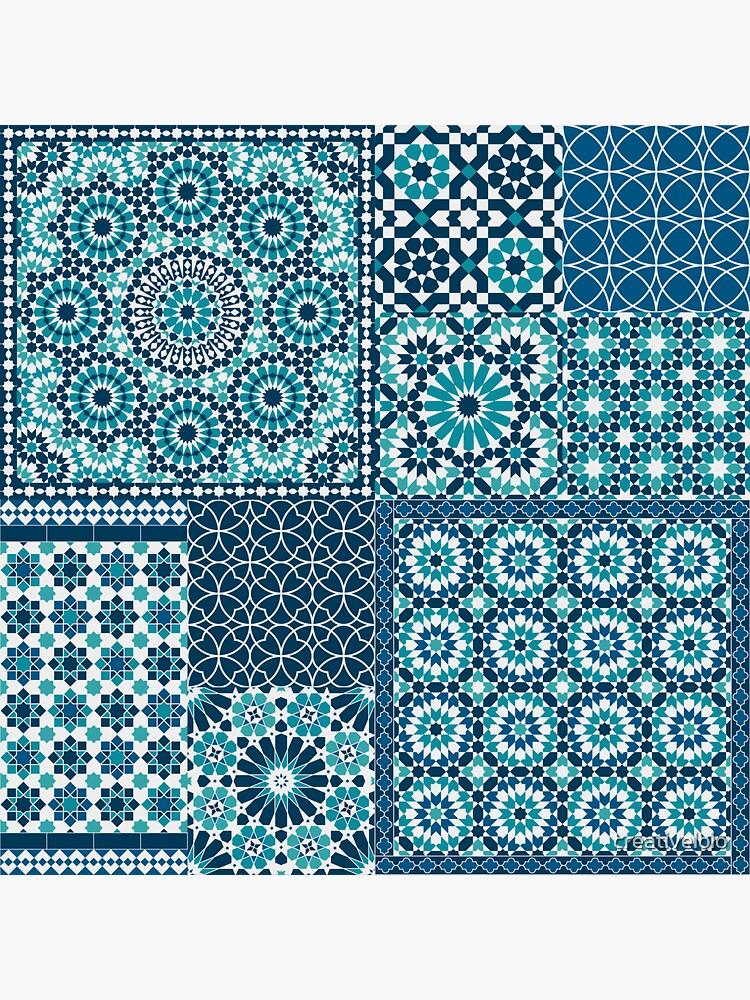 Moroccan tiles 1 by creativelolo