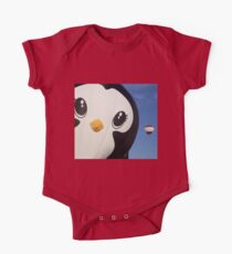 Penguin Balloon One Piece - Short Sleeve