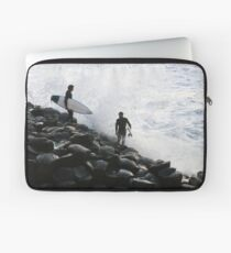 Crazy Surfers Laptop Sleeve
