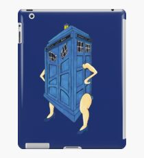 Angry Police Box iPad Case/Skin