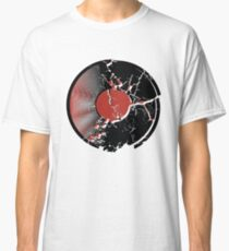 Music Vinyl Record Explosion Comic Style Classic T-Shirt