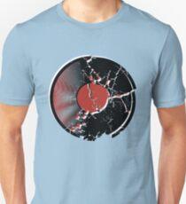 Music Vinyl Record Explosion Comic Style Unisex T-Shirt