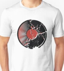 Music Vinyl Record Explosion Comic Style T-Shirt