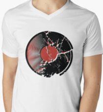Music Vinyl Record Explosion Comic Style T-Shirt