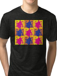 Pop Art Drummer Tri-blend T-Shirt