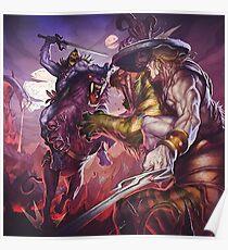 Master Attack Poster