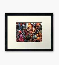 HeMan Team Framed Print