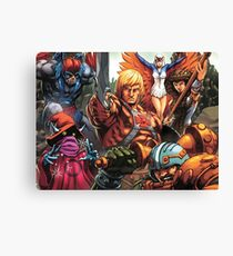 HeMan Team Canvas Print