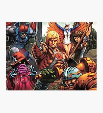 HeMan Team Photographic Print