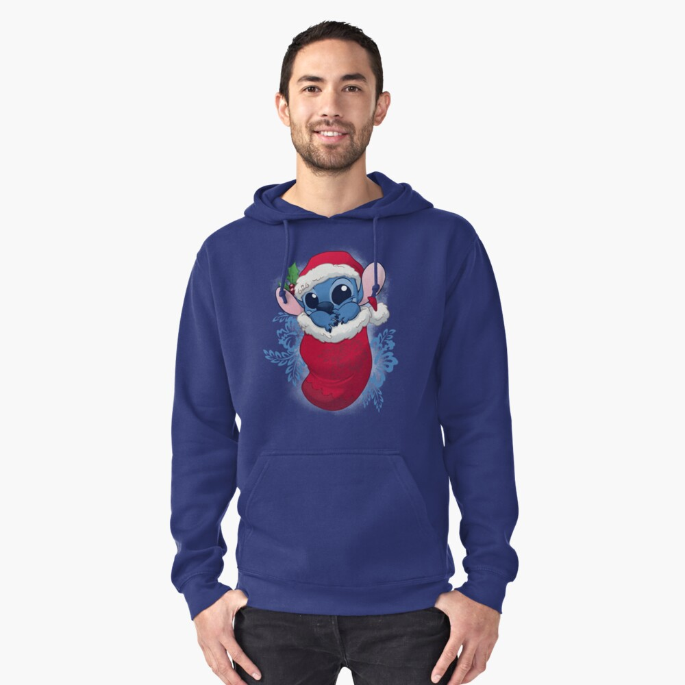 Stocking Stuffers: Stitchy Pullover Hoodie Front
