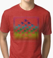 Souvenir from Netherlands:  Escher Tri-blend T-Shirt