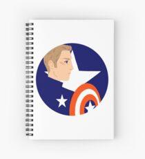 White Spiral Notebook