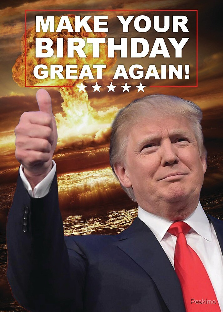 Make Your Birthday Great by Peskimo