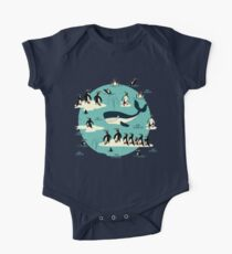 Whales, Penguins and other friends One Piece - Short Sleeve