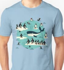 Whales, Penguins and other friends T-Shirt