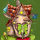 Suzette The Solar House Fairy by TeelieTurner