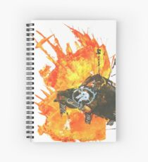 Ride Eternal Spiral Notebook