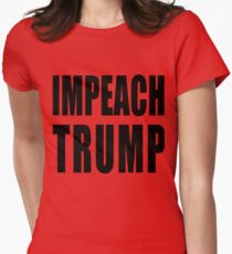 IMPEACH TRUMP Womens Fitted T-Shirt