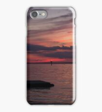 Sunset Over the Mainland iPhone Case/Skin