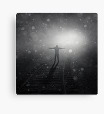 Train to Catch Canvas Print