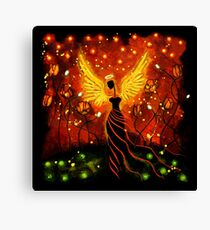 I GIVE YOU THE SUN, THE MOON AND THE STARS Canvas Print