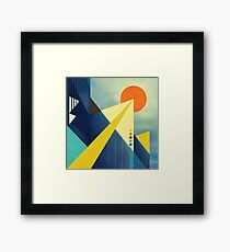 Heaven's Launchpad Framed Print