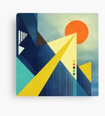 Heaven's Launchpad Canvas Print