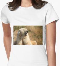 Come a little closer Women's Fitted T-Shirt