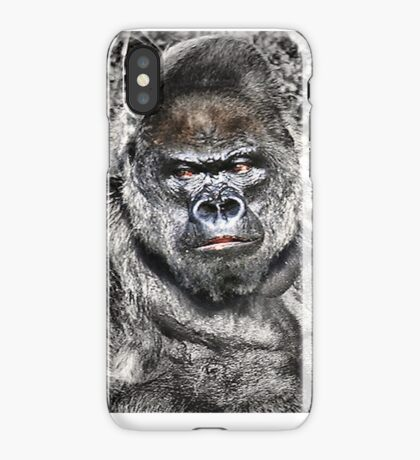 Gorilla - Who's The Daddy iPhone Case
