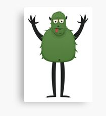 Monster Character #11 Canvas Print
