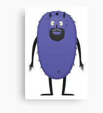 Monster Character #13 Canvas Print