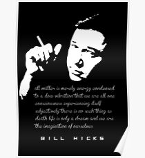 Bill Hicks Life is only a dream Poster