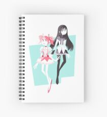 Madoka Magica Spiral Notebook