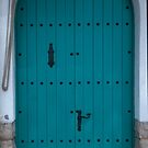 Blue Coastal Door from Costa Brava Spain by pjwuebker