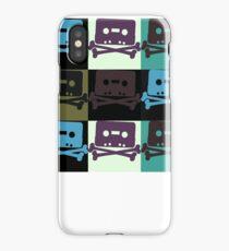 Music Tape Skull and Bones iPhone Case/Skin
