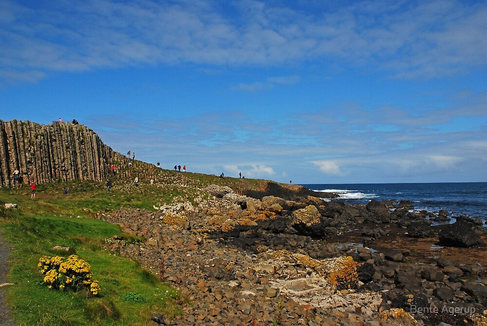 Giants Causeway by Bente Agerup